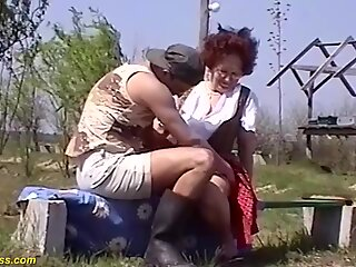 84 years old mom fucked by stepson