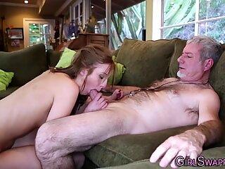 Teen bangs older stepfather