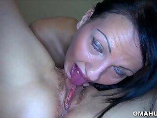 Horny Grandma in Hot Porn Video