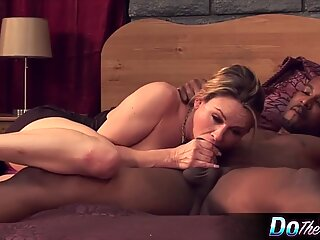 Housewife Takes Black Cock