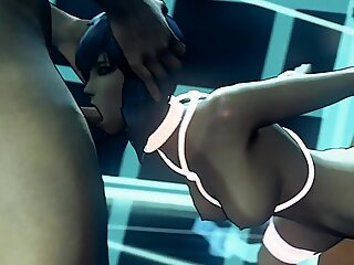 Busty Girl Fucked by Monster Creature