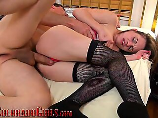 5 Horny Young Women Fucked And Creamped By Huge Mature Cock