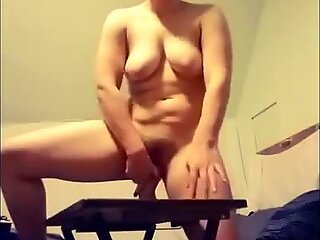 pawg NoelleMorrison Sucks and Fucks a Monster Dildo