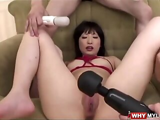 Arisa Nakano receives insatiable playing for her anal invasion and beaver