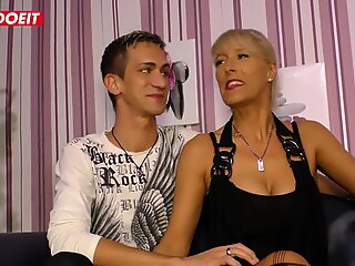 LETSDOEIT - Stunning German Milf Has Her First Sex Tape With Horny Step Son