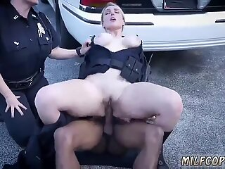 Blonde milf stuck We are the Law my niggas, and the law needs dark-hued cock!