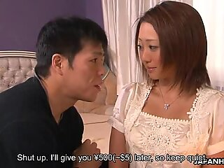 Daddy teaches an exotic girl gentle and magical sex.
