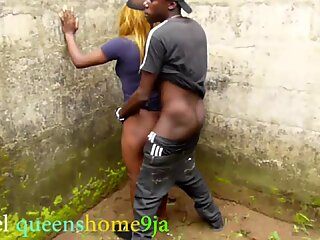 She was not be able to control herself, while she'_s fingering her Pussy, she has to run down to the farm and meet her boy friend to fuck her immediately, in an  uncompleted building, and one bad boy hiding  somewhere to watch them.