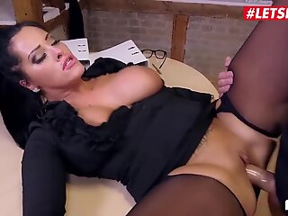 LETSDOEIT - German MILF Ashley Cumstar Has Hot Sex At Work