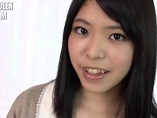 Shy Asian Girl Takes Off Panties