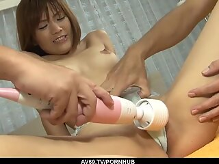 Nagisa Aiba roughly fucked by a group of men
