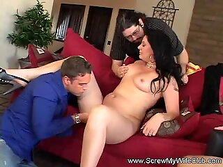 Sexy Swinger Has Wild Time