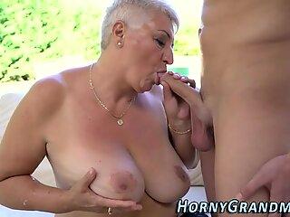 Granny sluts tits cumshot