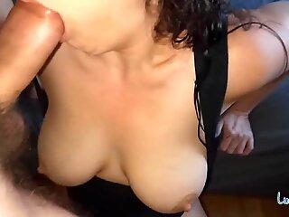 Perfect Blowjob, Deepthroat and Face Fuck at Home - Pov Amateur