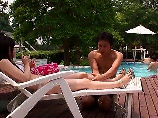 Shino Aoi :: Fuck At The Pool 1 - CARIBBEANCOM