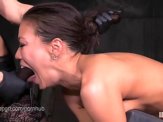 slim japanese slut fucked hard by lezdom belt cock