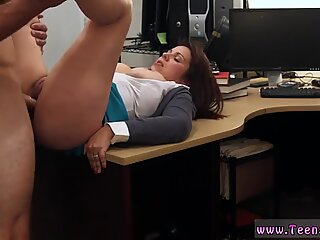 Passionate eating MILF sells her husband s stuff for bail $$$