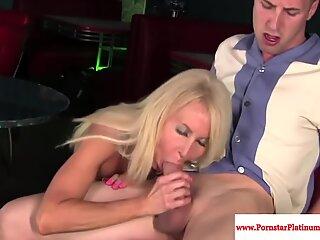 Erica Lauren gets mouthful of cum